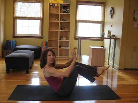 rock and roll from navasana boat pose to plank  youtube
