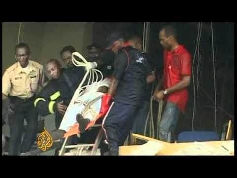 UN building hit by a suicide bomb in Nigeria