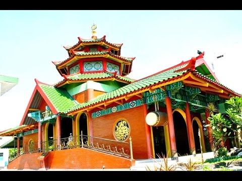 MASJID CHENG HO - Chinese Historical Mosque - Islam in Java [HD]