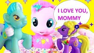 GIANT SURPRISE VIDEO ~ Newborn Baby MLP Pinkie Pie Compilation Blind Bag Tote Frozen Magnet Dress Up