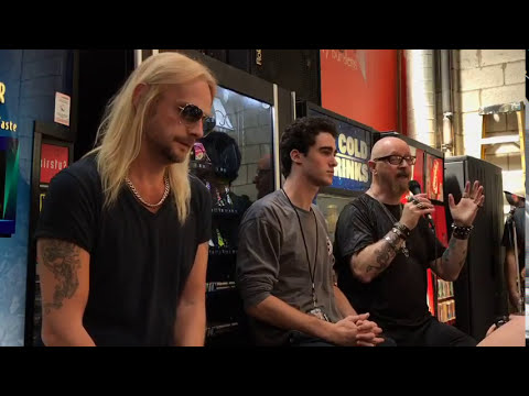 Judas Priest Q&A with Rob Halford and Richie Faulkner at Rock and Roll Fantasy Camp 2017