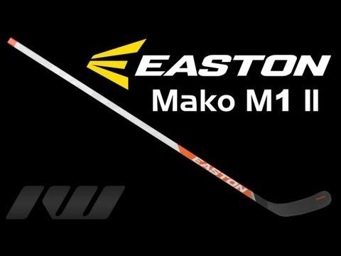 112f111332a Easton Mako M1 II Hockey Stick Review - YouTube