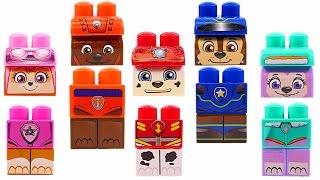 Mejores Videos para Niños Aprendiendo Colores - Paw Patrol Block Sets Learning Colors