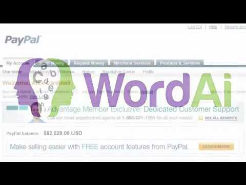 Word Ai - The Smartest Article Re-writer EVER! - Make Online
