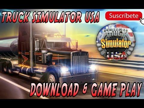 TRUCK SIMULATOR USA DESCARGA  & GAMEPLAY.