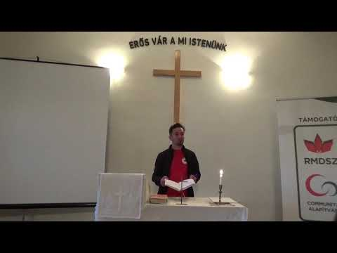 2018 - Egyházmegyei konfirmandus biblia hétvége - Esti áhitat   Fejér Olivér püspöki titkár