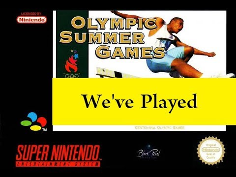 We've Played - Olympic Summer Games Atlanta 96 - SNES