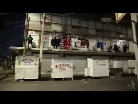 Graffiti Ilegal MExico Siler, Dunck, Pemex, Aware, Pen.