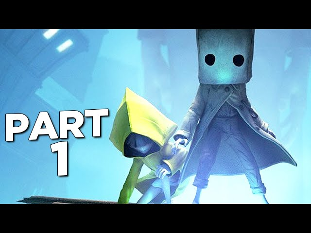 LITTLE NIGHTMARES 2 Walkthrough Gameplay Part 1 - INTRO (FULL GAME)