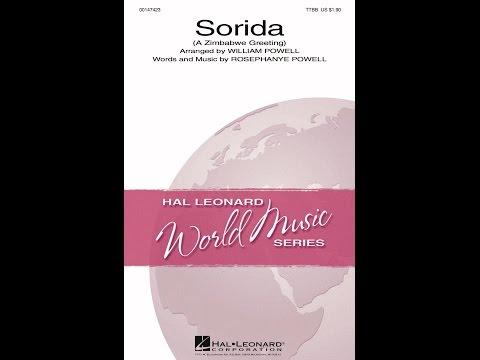 Sorida (TTBB) - Arranged by William Powell
