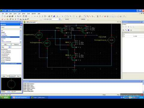 CMOS NAND gate Design and analysis using Tanner EDA by ESCS TECH greater noida part 4 of 4