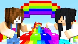 Minecraft Lucky Block - CORRIDA NO ARCO-ÍRIS