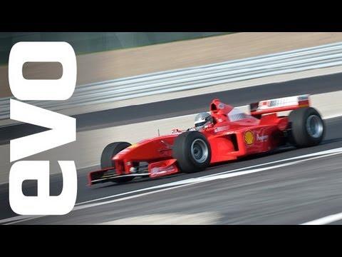 Ferrari F1 car drive --evo exclusive