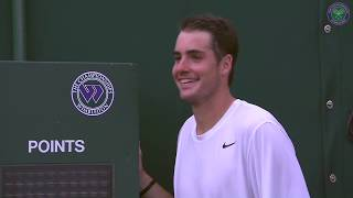 Isner's record 113 aces against Mahut