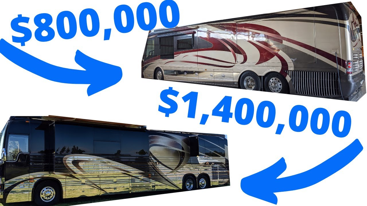 COUNTRY COACH COMPARISON  PREVOST XL2 AND AFFINITY 700