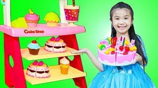 Hana Pretend Play with Cake Shop BAKERY Toys