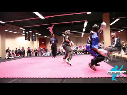 Micah Williams vs  Dwight Bargainer Team Sparring Round 1 - 2016 AKA Warrior Cup