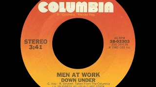 Men At Work ~ Down Under 1981 Extended Meow Mix