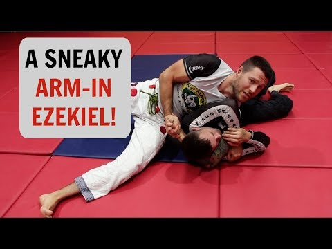 Back Submission  The Arm In Ezekiel
