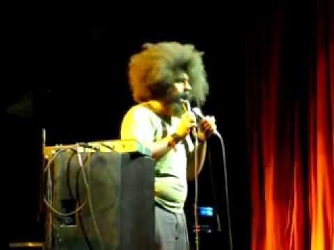 Reggie Watts Live At Le Bataclan