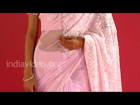 Chikankari sarees of Lucknow