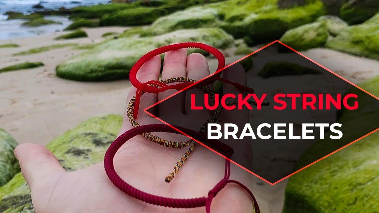 Tibetan Buddhist Red String Lucky