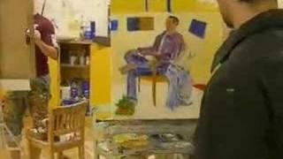 Elmira College Figure Painting Class - Part V