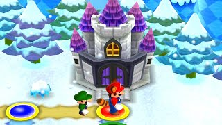 New Super Mario Bros. 2 - 100% Walkthrough - World 4 (2 Players)