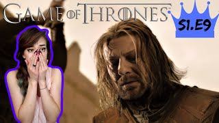 NO, NOT NED! - Reaction to Game of Thrones Season 1 Episode 9 - Tofu Reacts