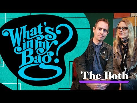The Both (Ted Leo & Aimee Mann) - What's In My Bag?