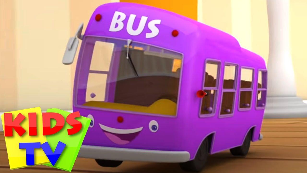 Боб поезд | Колеса на автобусе | Музыка для детей | Kids Tv Russia | Детский сад | Дошкольные видео