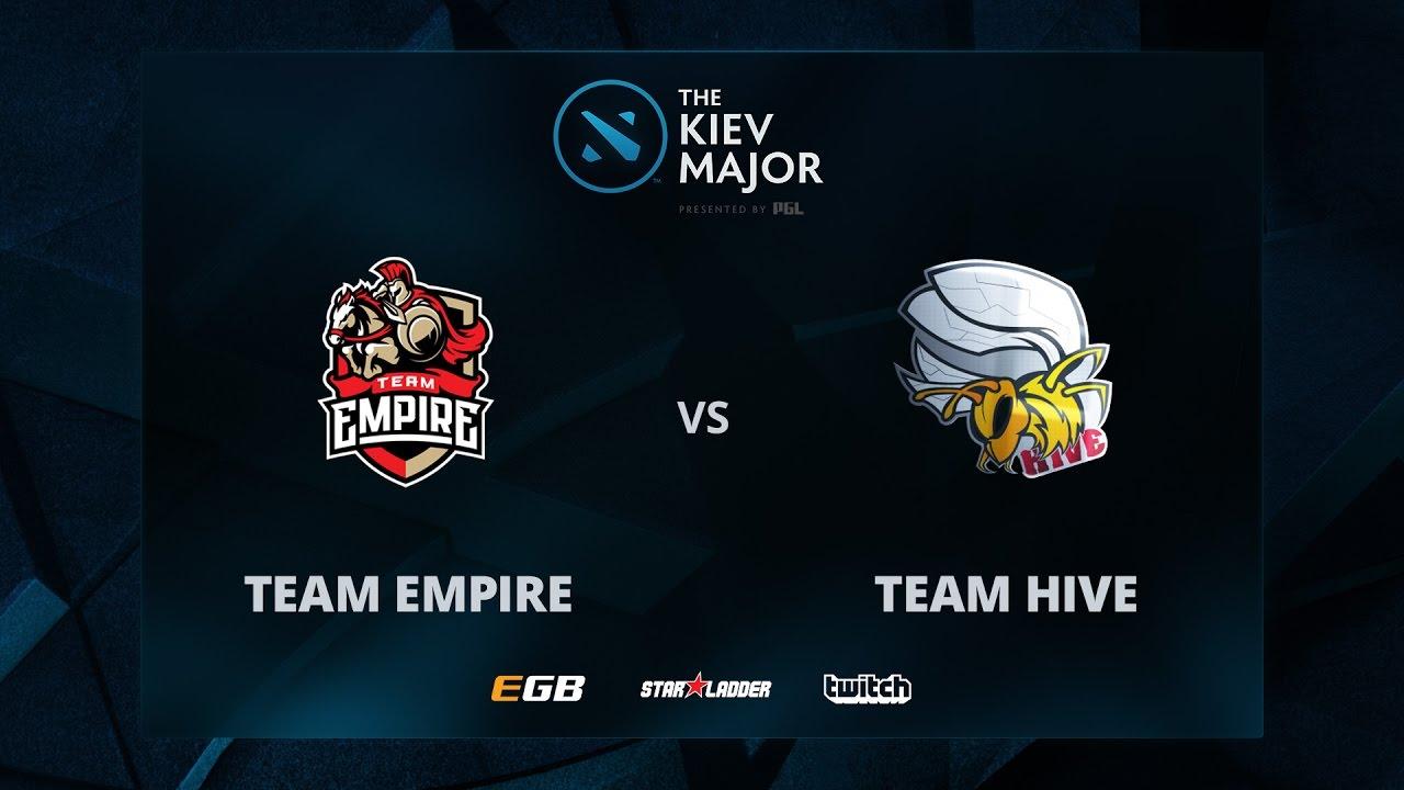 Team Empire vs Team Hive, The Kiev Major CIS Main Qualifiers