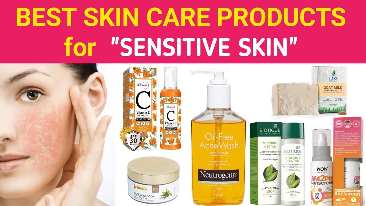 sensitive skin care india