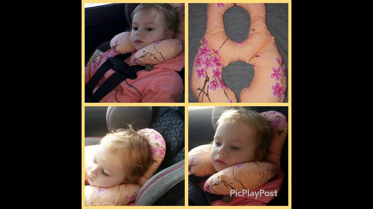 Детская подушка в автокресло своими руками 100