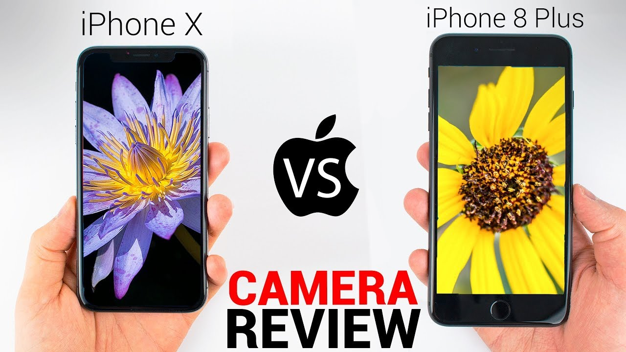 iPhone X vs iPhone 8 - CAMERA REVIEW - YouTube