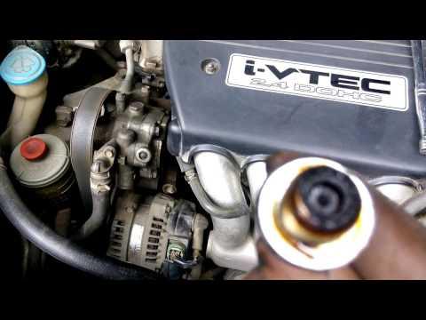 DIY: 2003 Honda Accord PCV Valve Maintenance.