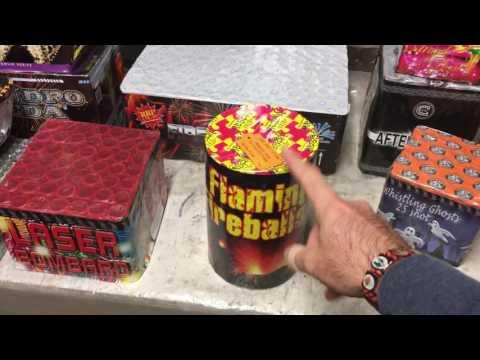 2016 UK Fireworks main stash