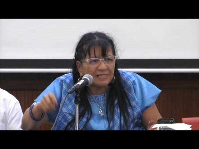 Discurso de Presidenta de #CDHDF en la presentación de Manual #DDHH de Adultos Mayores