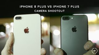 iPhone 8 Plus VS iPhone 7 Plus | CAMERA SHOOTOUT