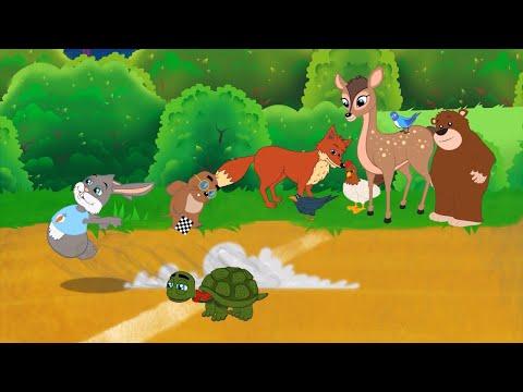 2-cuentos-|-la-liebre-y-la-tortuga---el-hombre-de-jengibre-cuentos-infantiles-para-dormir-en-español