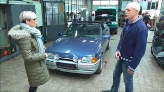 Alte Liebe - Heinrich Johnen und sein Ford Xr3