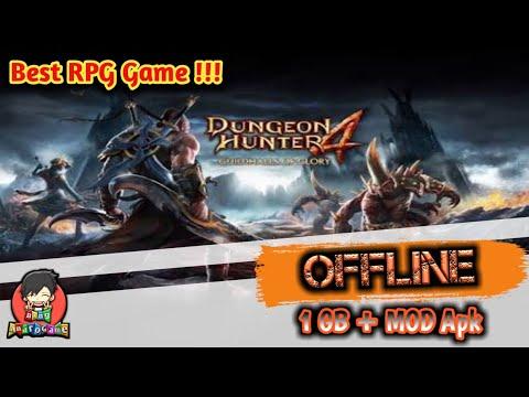 Dungeon Hunter 4 (MOD Apk+Data) + Offline 1 Gb