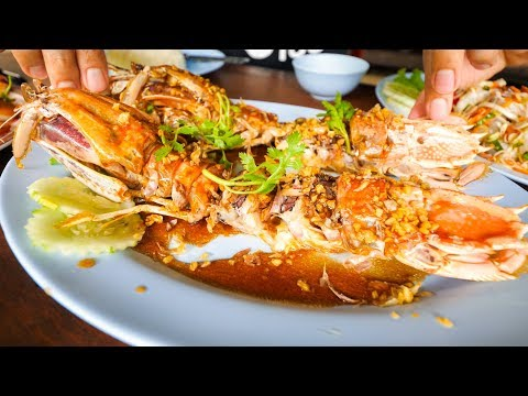 Koh Chang Island - PRISTINE SEAFOOD FISHING VILLAGE and Spicy Curries | Food Travel Guide!