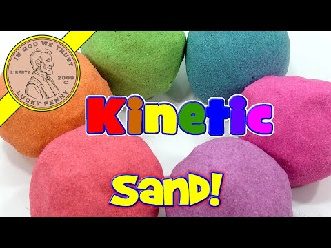 Rainbow Kinetic Sand!  I Mix & Make Colors - ASMR Satisfying