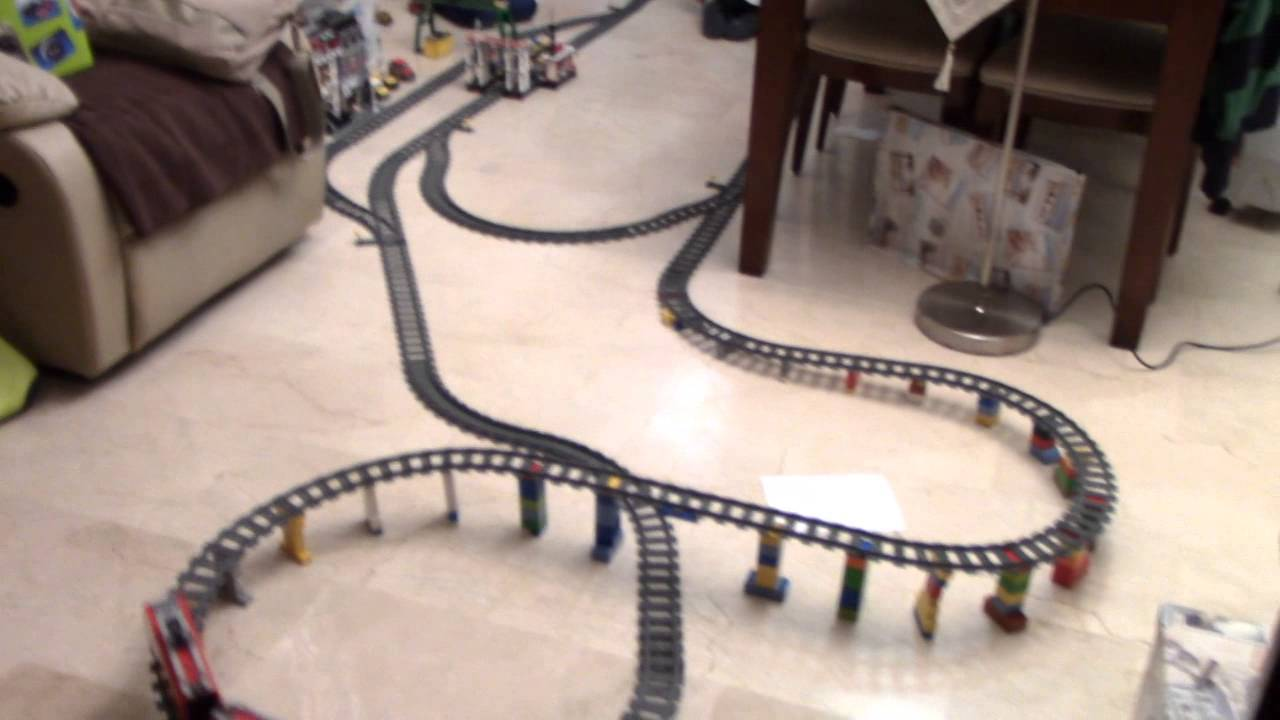 Howto Create Lego Train Inclines Lego Reviews Videos