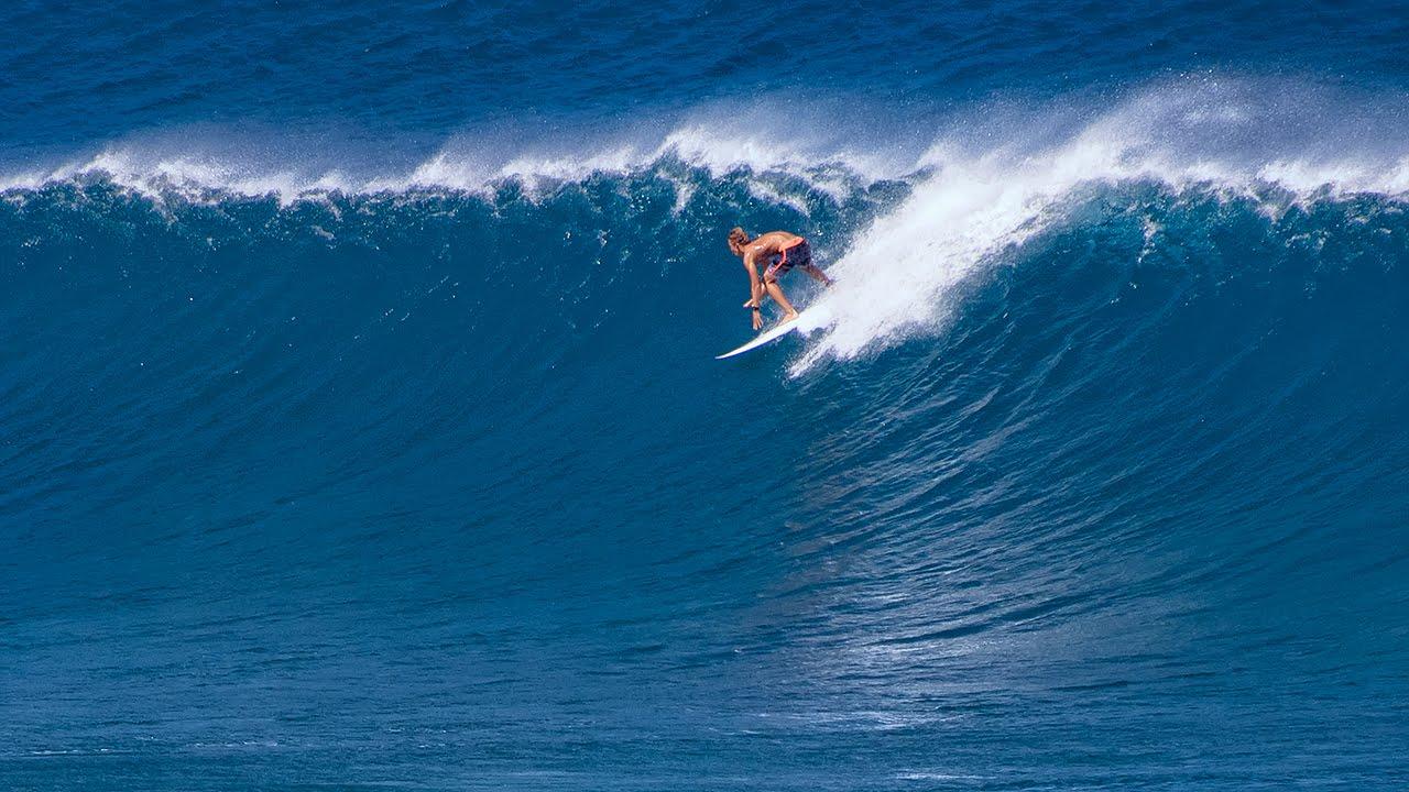 Winter Swell Surfing 01/23/2015 at Ho'okipa Maui, Hawaii ...