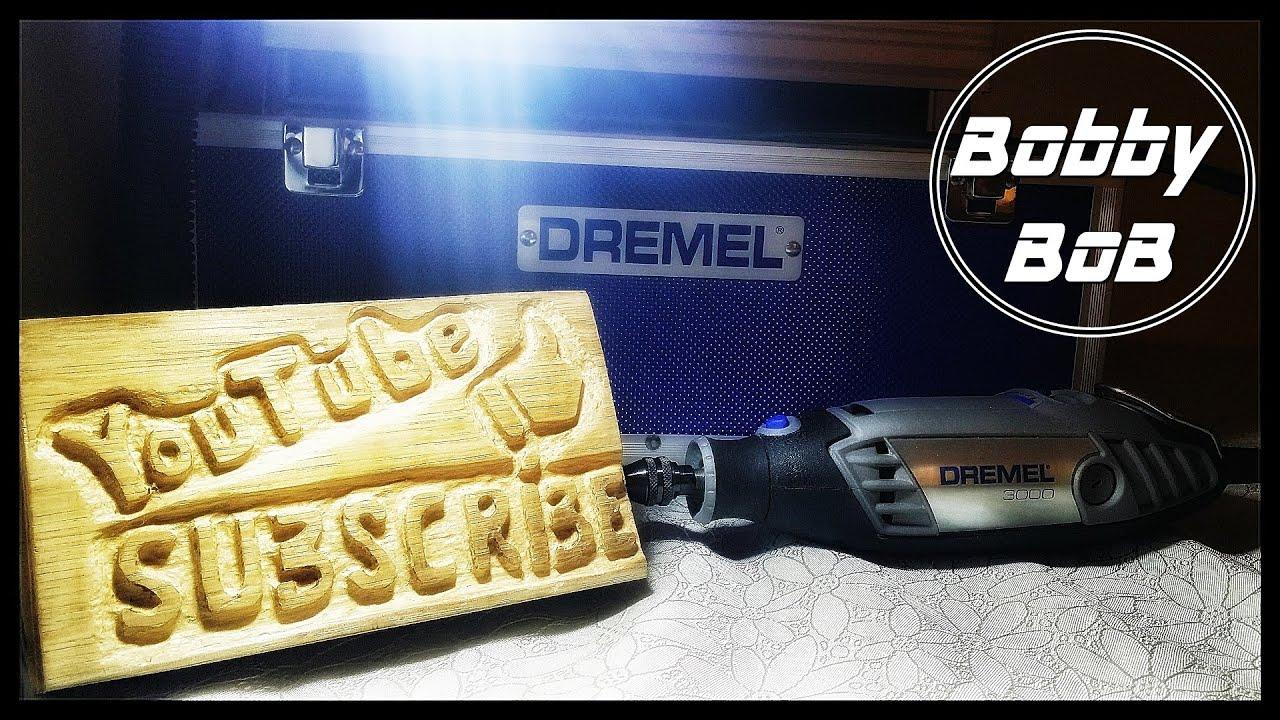 Wood Carving Dremel Dremel 3000 Gold Wood Carving Youtube