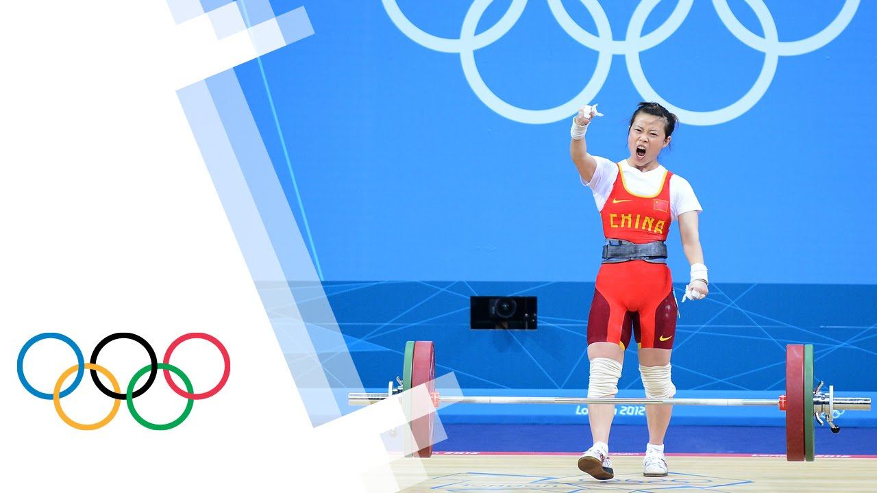 China's Mingjuan Wang Wins Women's 48kg Weightlifting Gold ...