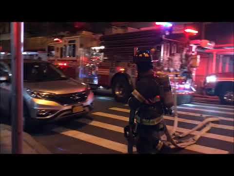 FDNY BOX 1766 - FDNY OPERATING AT A 2ND ALARM FIRE ON BENNETT AVENUE IN MANHATTAN.