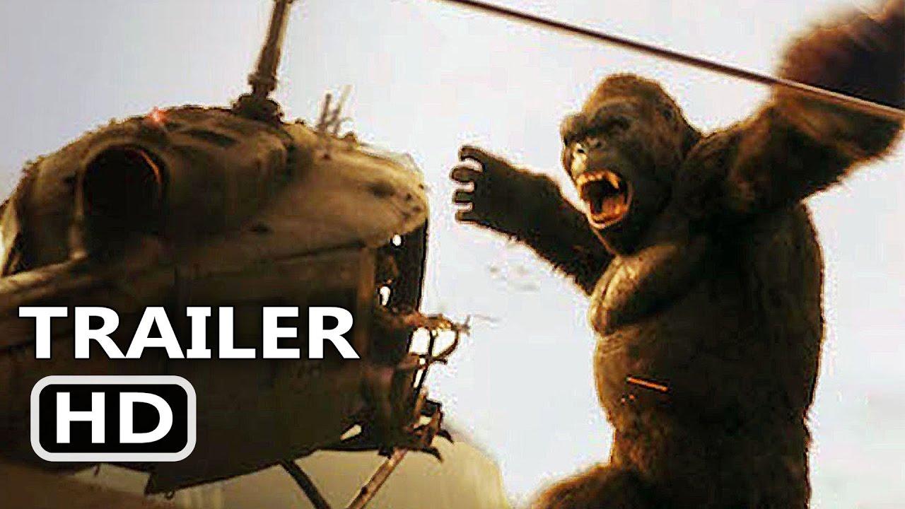 Download KING KONG 360° VR Trailer (2017) Helicopter Crash Movie Scene HD